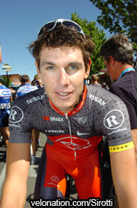 South African sprinter Daryl Impey